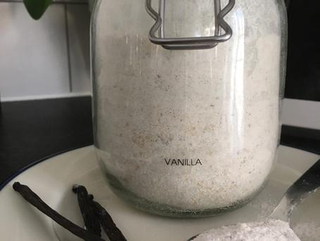 Post n°8 - Le sucre vanillé