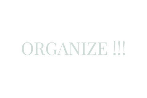 """Organize"""