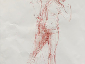 Life Drawing from 2 Perspectives.