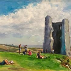 Hadleigh Castle Summer Day