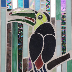 Pamela the Keel Billed Toucan -SOLD
