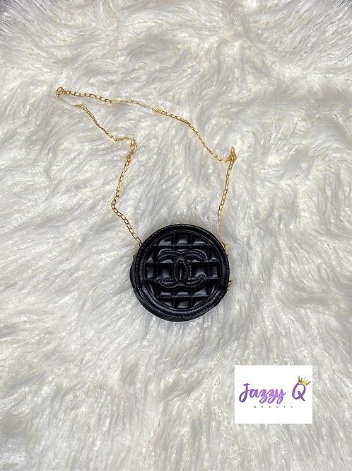Black mini chanel