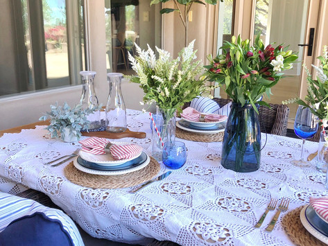 Summer Holiday Tablescape Collaboration