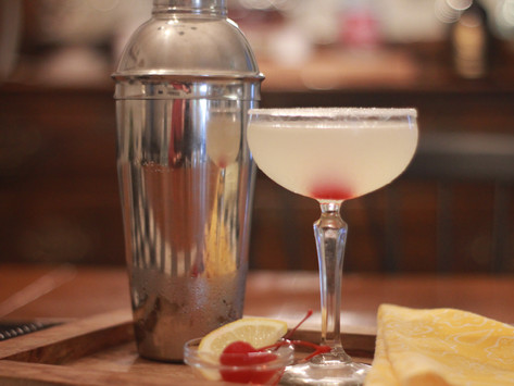 Cherry Lemon Drop Martini
