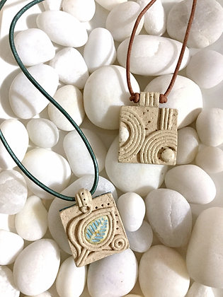 Zen Sand Necklaces