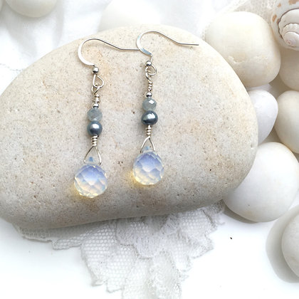 Crystal Opal Lake Earrings
