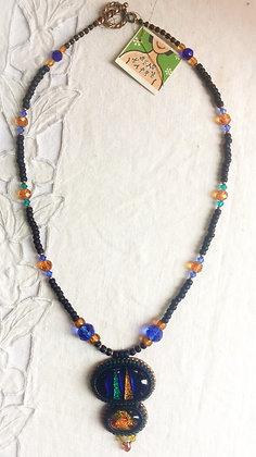 Harlequin Girl Necklace