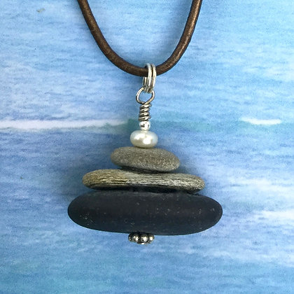 3  Grey whales & a Pearl Necklace