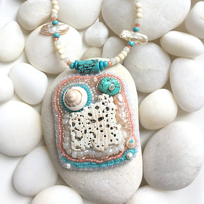 Coral Seabreeze Necklace