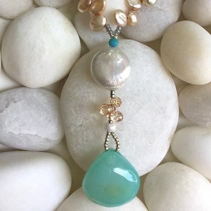 Joyful Pearl Necklace