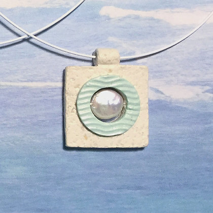 Caught In A Wave Necklace