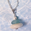 Thumbnail: White stone, Glass and a Pearl Necklace II