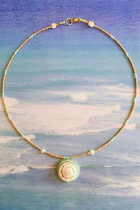 Swirl n' Wave Necklace