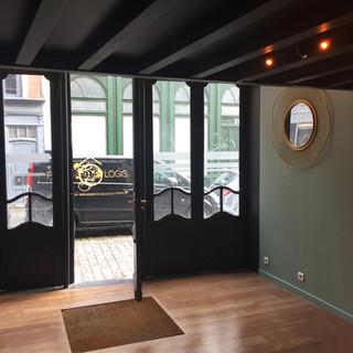 Aménagement et décoration pour une boutique dans le vieux Lille