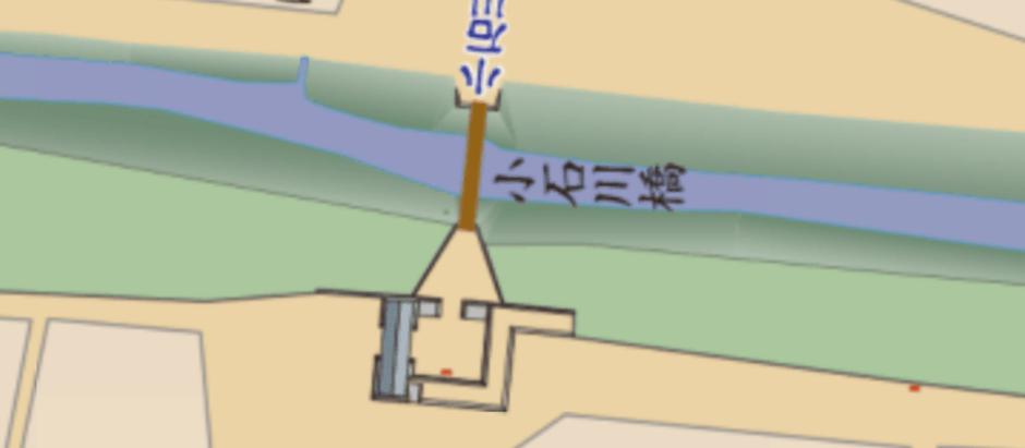 現代と江戸時代の地図を同時表示する『古地図 with MapFan』