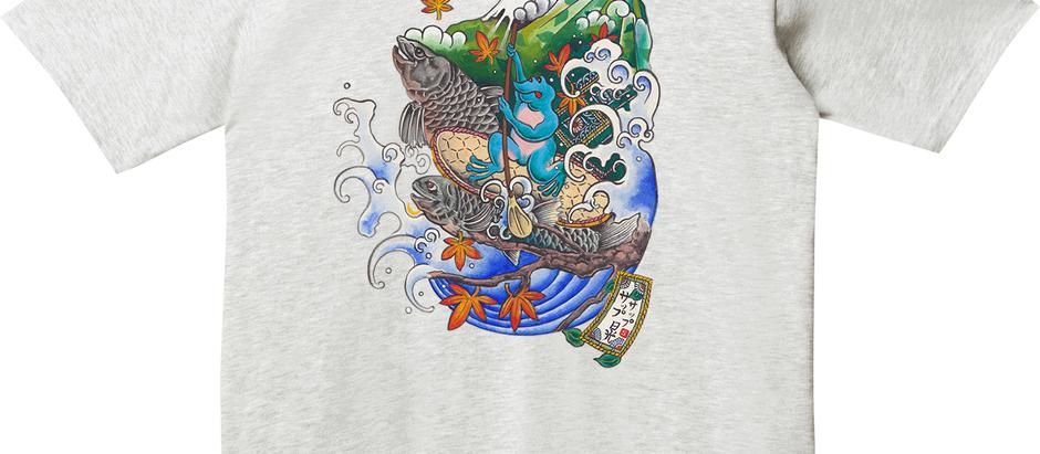 オリジナルTシャツを3種類作成します。先行発売とペアチケットもご一緒に!