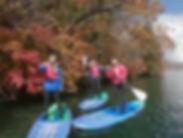 日光中禅寺湖の紅葉とSUP