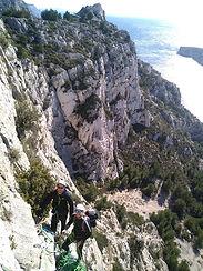 grande voie calanue de Marseille Morgiou
