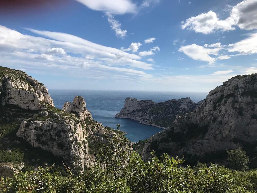 Calanque de Sormiou : où grimper à Marseille