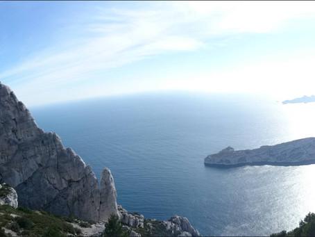Grimper dans le Parc national des Calanques - Marseille