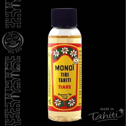 Monoï de Tahiti, provenance Tahiti