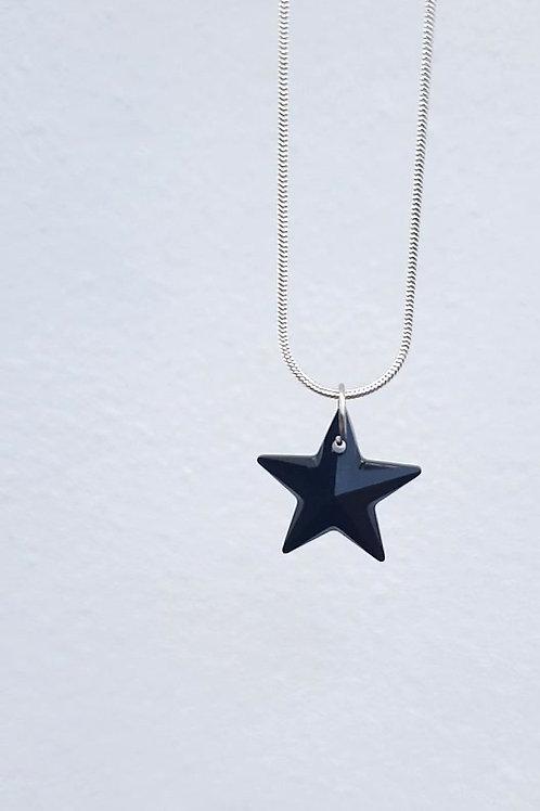 SWAROVSKI Jet star Necklace