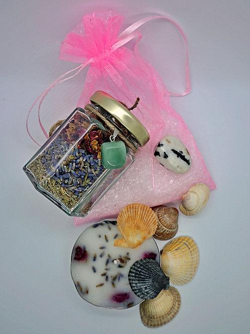 New Moon bath ritual kit
