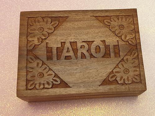 Tarot wooden box