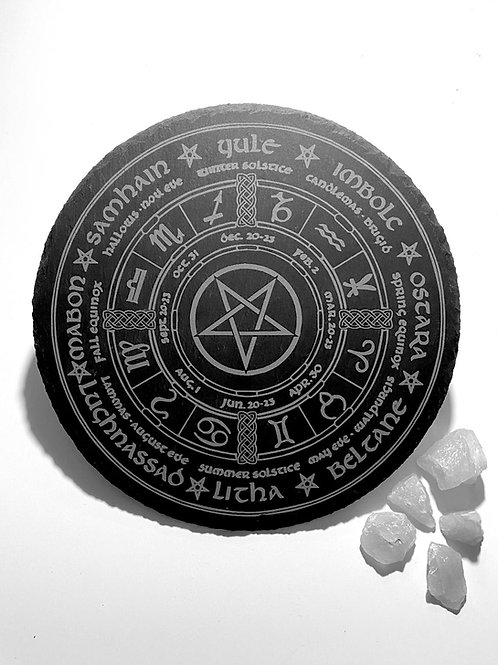 Pentagram Wheel of the Year
