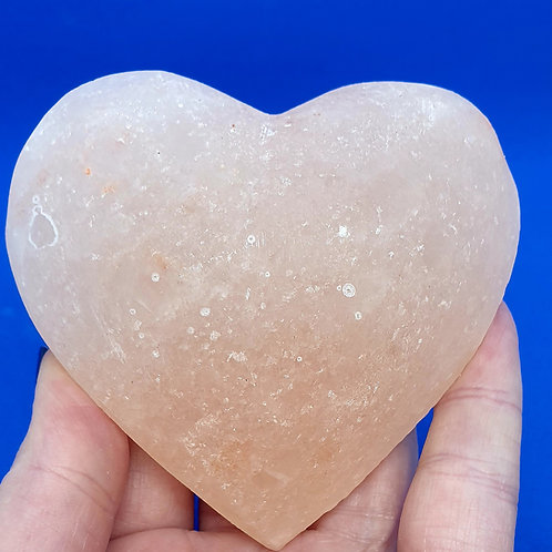 Salt Heart Massage Stone