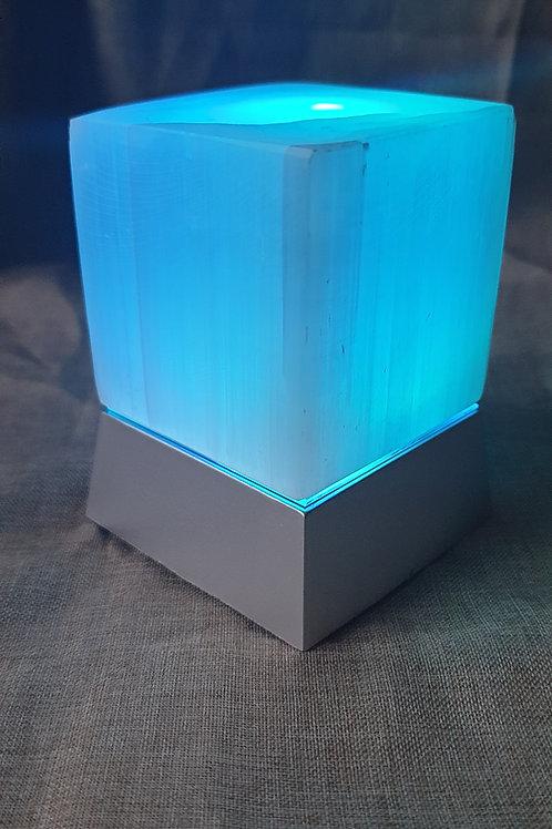 Selenite light cube