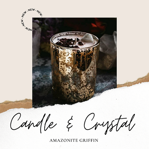 Crystal and Candle Gift