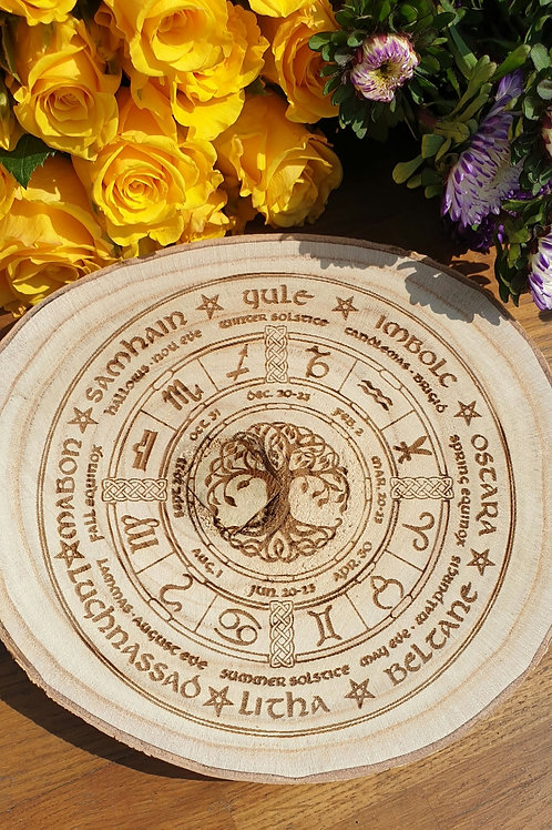Tree of life wheel of the year