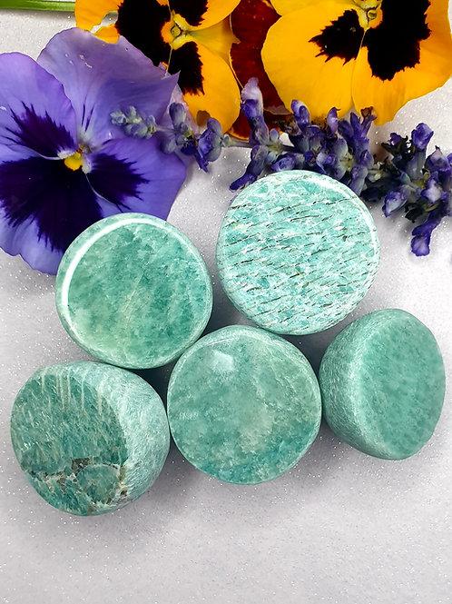 Amazonite polished faced dragon eggs