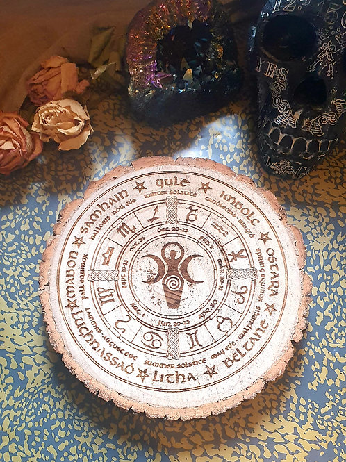 Spiral Goddess wheel of the year