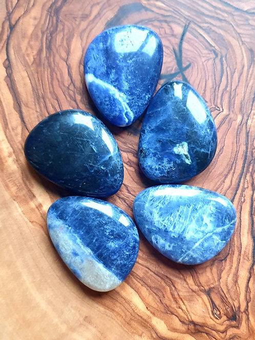 Soldalite thumb stone