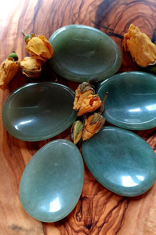 Green Aventurine worry stone
