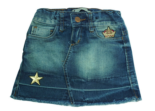 Minifalda de jean exclusivas
