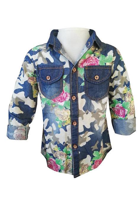 Camisa Little Arual talles del 2 al 6