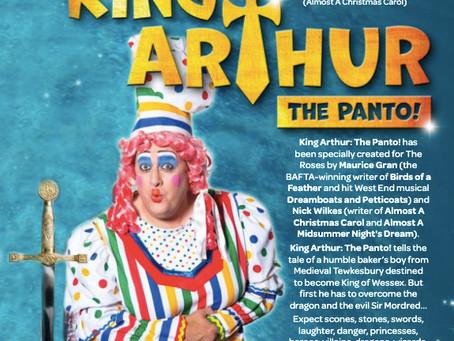 Ben to return to Tewkesbury in King Arthur The Panto!