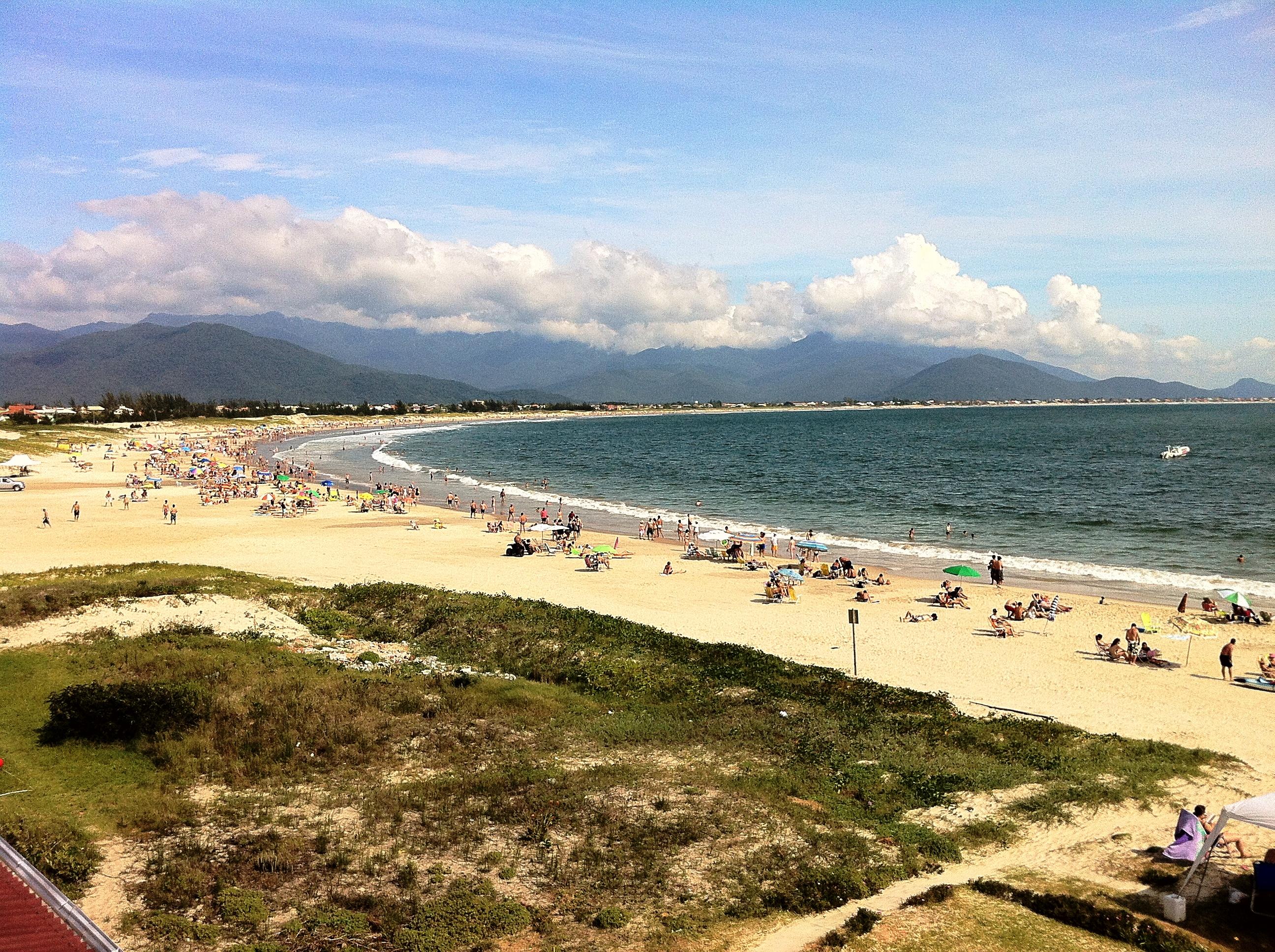 Orla da Praia da Pinheira
