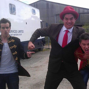 Dick and Dom and Dan the Hat!  #dantheha