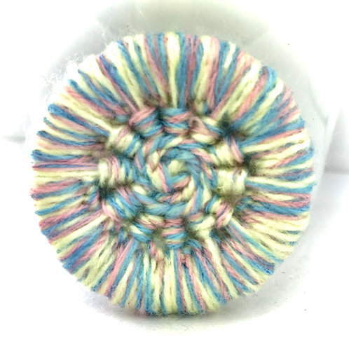 Chunky Dorset button brooch