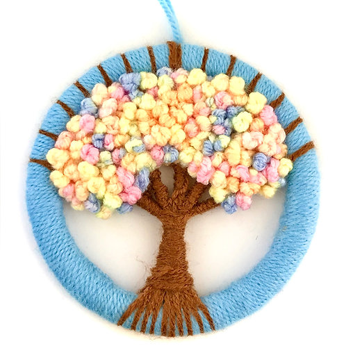 Dorset Button Candy Tree Wall Hanging - Large