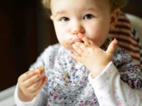 Pocketing: When Your Child Won't Swallow Table Food