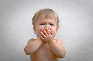 bigstock-Screaming-Crying-Baby-Covering-