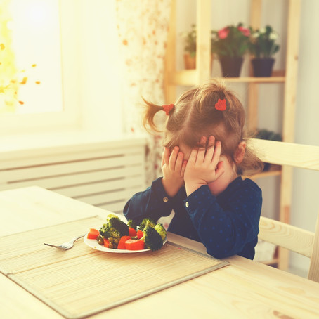 How to Change Picky Eating with Your Mealtime Approach