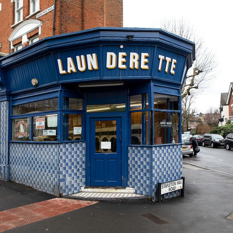 Launderette, Ferme Park Road, N4