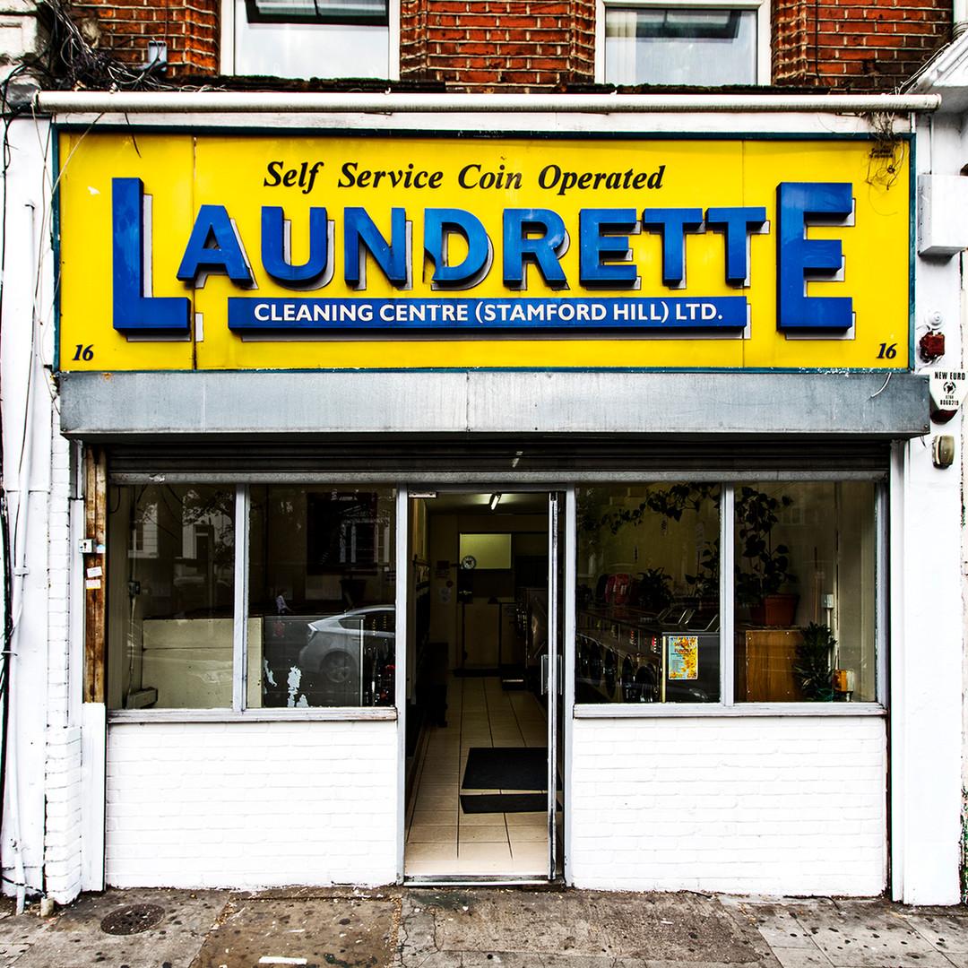 Launderette, Stamford Hill, N16