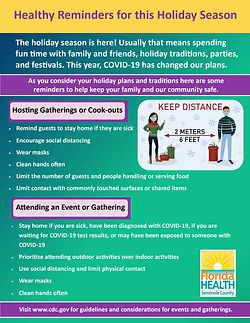 Healthy Reminders For Holidays COVID 1.J